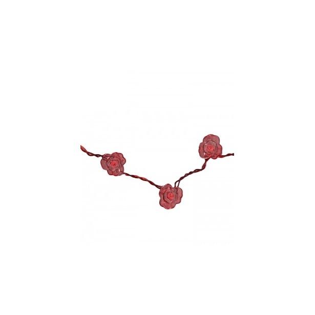 фото Гирлянда на батарейках Star Trading Viola. Цвет: красный