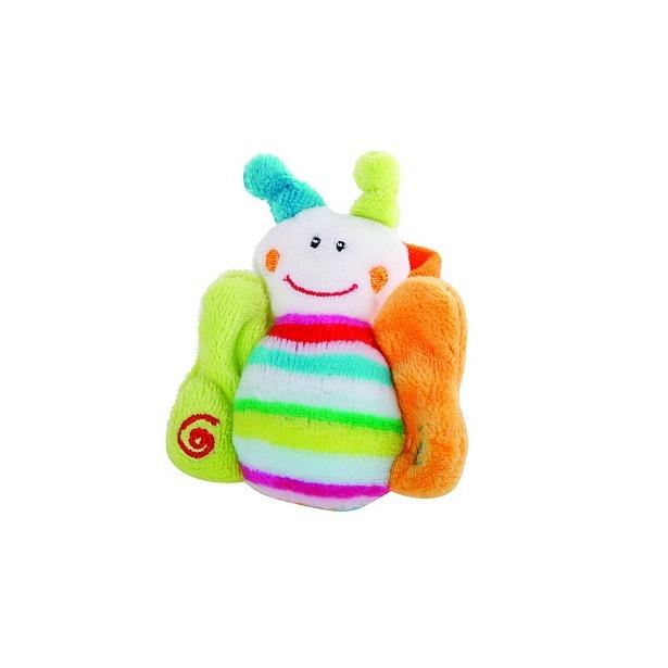 фото Мягкая игрушка на запястье Gulliver «Бабочка»