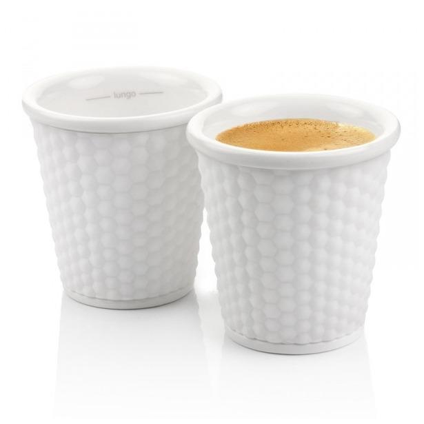 фото Набор чашек Les Artistes-Paris Honeycomb. Цвет: белый. Объем: 100 мл