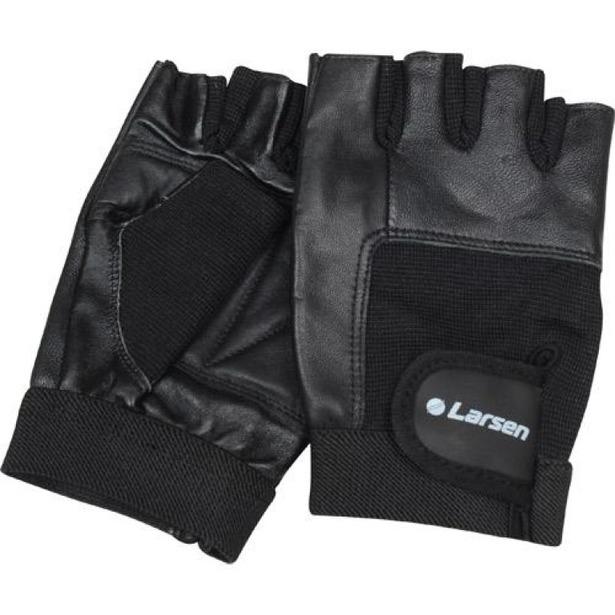 фото Перчатки для тяжелой атлетики и фитнеса Larsen NT506. Размер: M