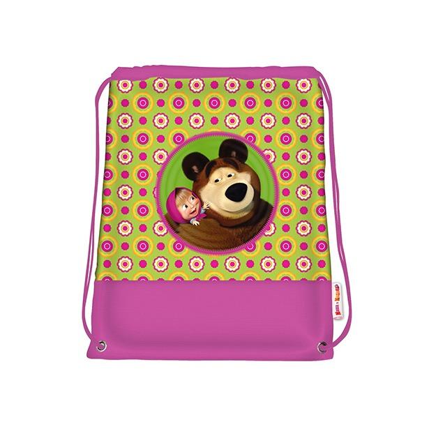 фото Мешок для обуви Маша и Медведь «Маленькая Модница»