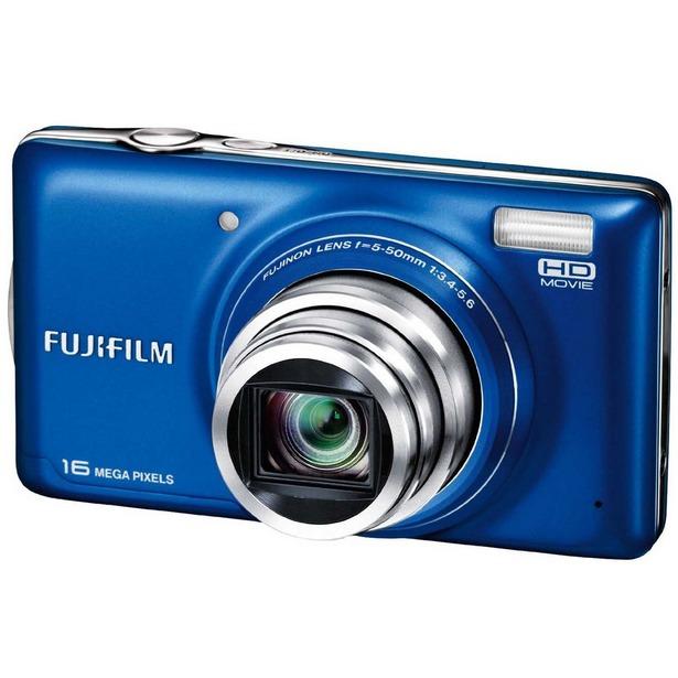 фото Фотокамера цифровая Fujifilm FinePix T400. Цвет: синий