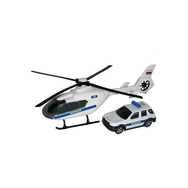 фото Модель автомобиля AUTOTIME Air Emerg Team. Полиция с вертолетом