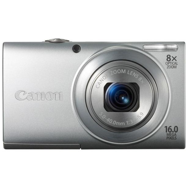 фото Фотокамера цифровая Canon PowerShot A4000 IS. Цвет: серебристый