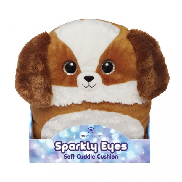 фото Игрушка-подушка Aroma Home Sparkly Eyes «Собака»