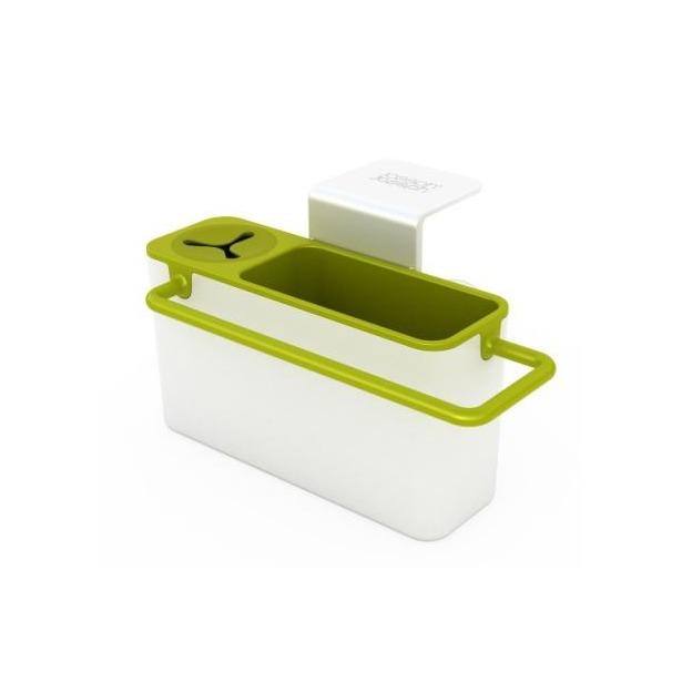фото Органайзер для раковины навесной Joseph Joseph Sink Aid. Цвет: белый, зеленый
