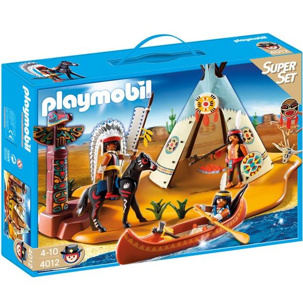 фото Лагерь индейцев Playmobil 4012pm