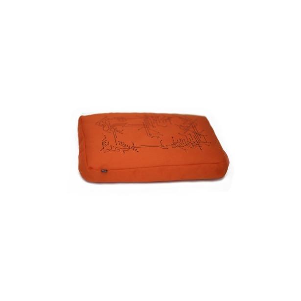 фото Подставка для ноутбука Bosign Surfpillow Hightech. Цвет: черный, оранжевый