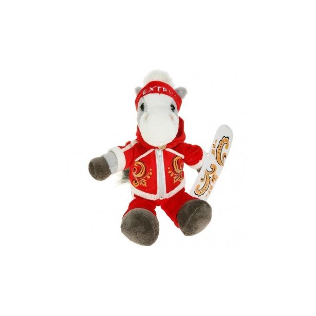 фото Мягкая игрушка Button Blue Конь-сноубордист
