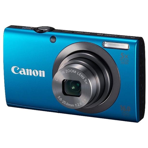 фото Фотокамера цифровая Canon PowerShot A2300. Цвет: синий