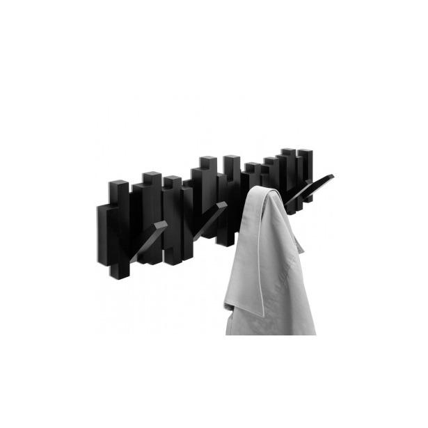 фото Вешалка настенная Umbra Sticks. Цвет: черный