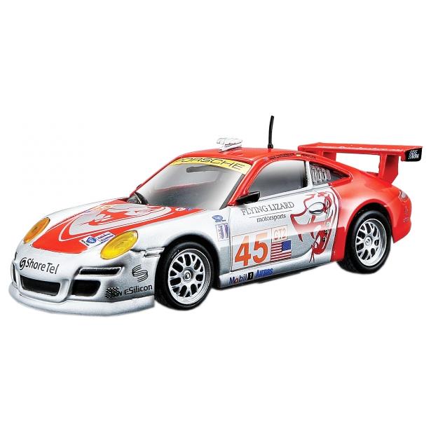 фото Модель автомобиля 1:43 Bburago Porsche 911 GT3 RSR