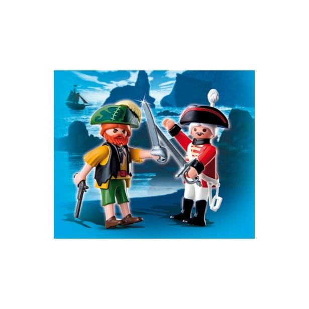 фото Пират и Английский солдат Playmobil 4127pm