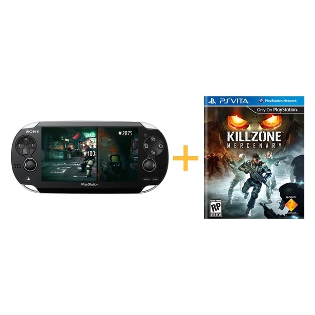 фото Консоль игровая SONY PlayStation Vita и игра Killzone Mercenary