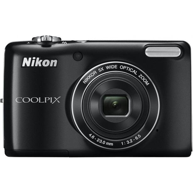 фото Фотокамера цифровая Nikon CoolPix L26. Цвет: черный