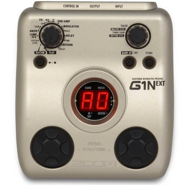 фото Процессор гитарный Zoom G1N и адаптер AD0016