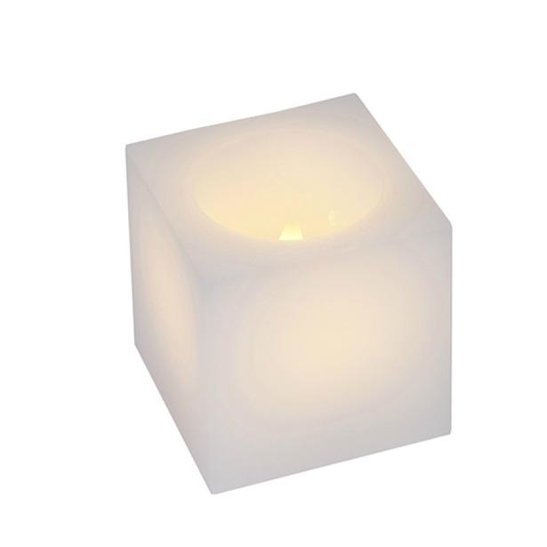 фото Свечи LED Star Trading Куб. Цвет: белый