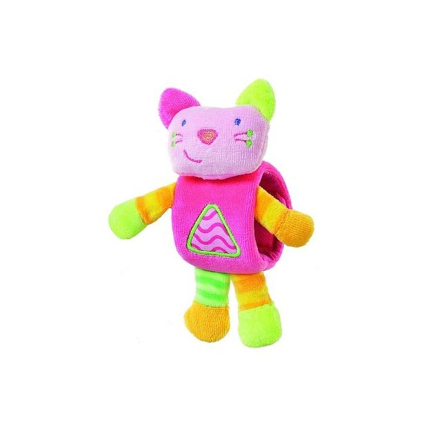 фото Мягкая игрушка на запястье Gulliver «Котенок»
