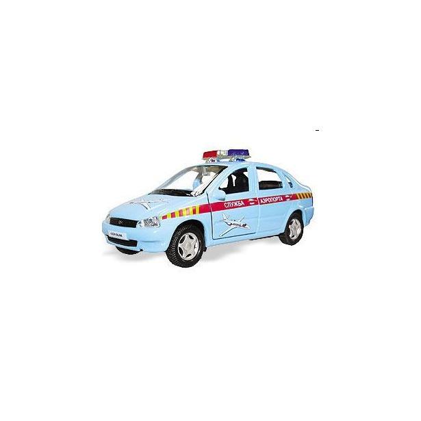 фото Модель автомобиля AUTOTIME LADA Kalina. Служба аэропорта