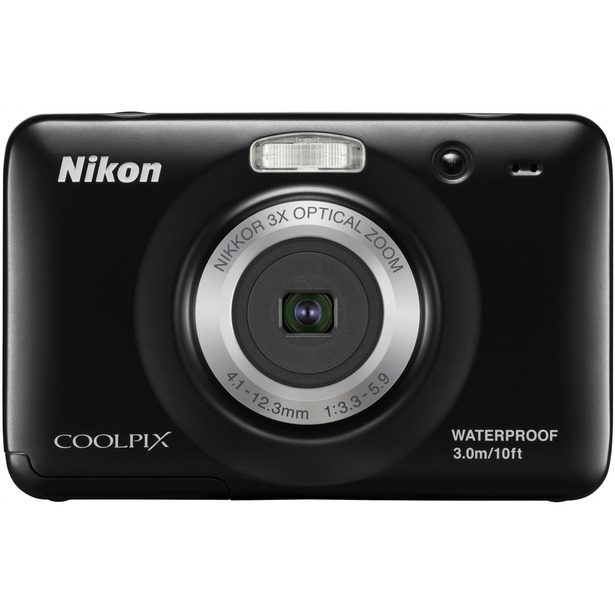 фото Фотокамера цифровая Nikon CoolPix S30. Цвет: черный