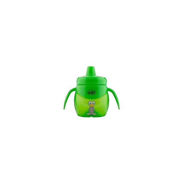 фото Чашка-поильник Adiri Penguin Trainer. Цвет: зеленый. Объем: 200 мл