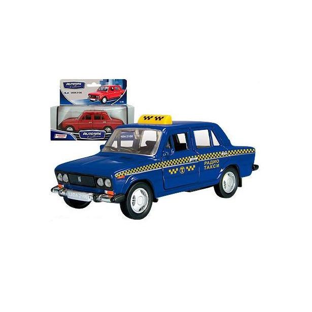 фото Модель автомобиля AUTOTIME LADA 2106. Такси