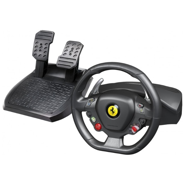 фото Руль с педалями Thrustmaster Ferrari 458 Italia Wheel