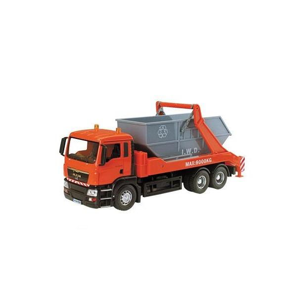 фото Модель автомобиля AUTOTIME Man TGS Truck. Стройконтейнер