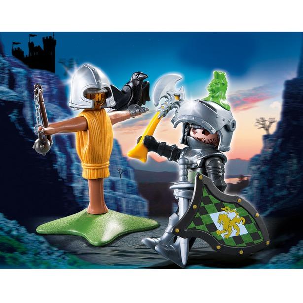 фото Рыцарь с тренировочным инвентарем Playmobil 4768pm
