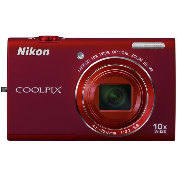 фото Фотокамера цифровая Nikon CoolPix S6200. Цвет: красный