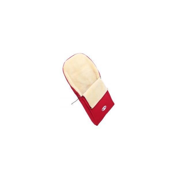 фото Конверт в коляску на меху Кроха Double. Цвет: красный