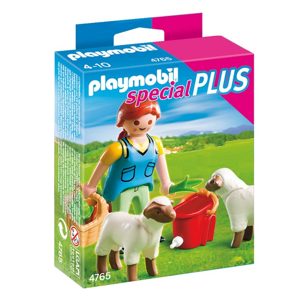 фото Девушка с овцами Playmobil 4765pm