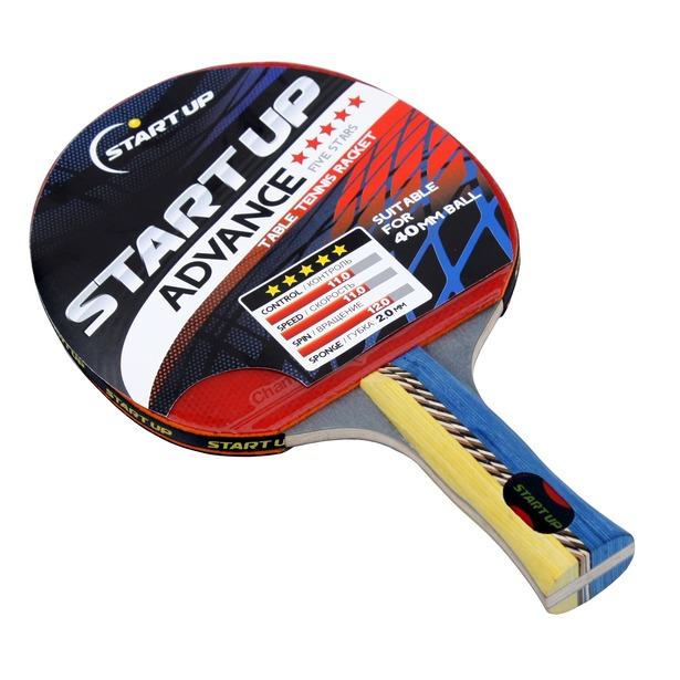 фото Ракетка для настольного тенниса Start Up Advance 5Star с анатомической ручкой