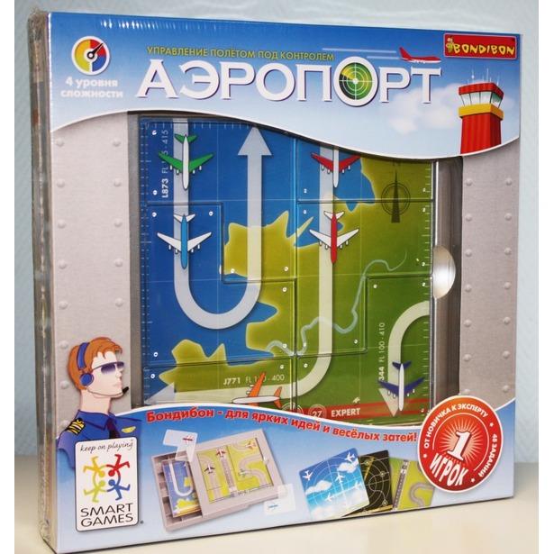 фото Игра логическая BONDIBON «Аэропорт» SG 202 RU