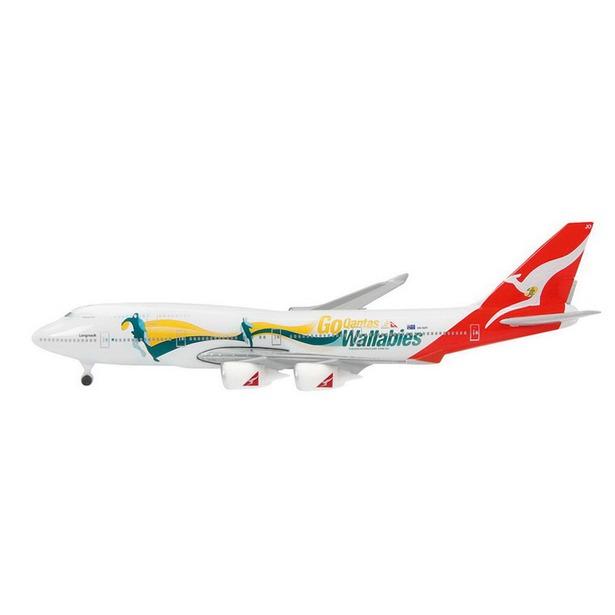 фото Модель самолета 1:600 Schabak Qantas, B747-400