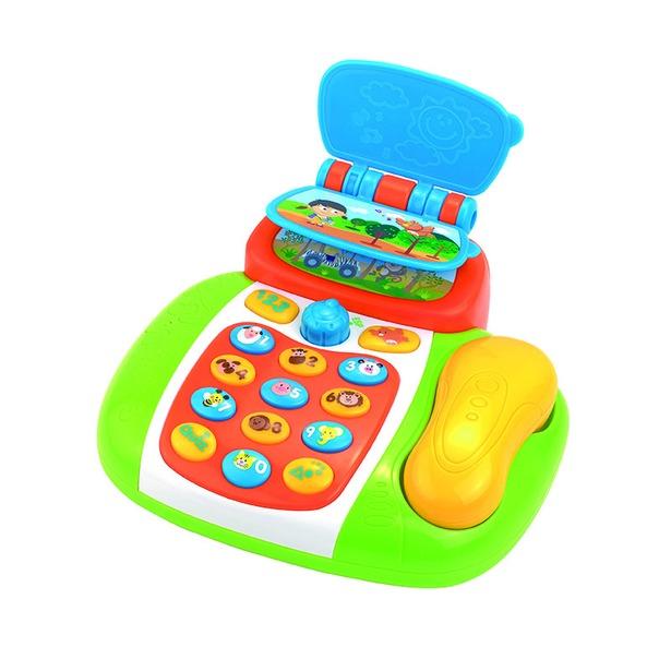 фото Пластиковая игрушка HAP-P-KID «Умный телефон»