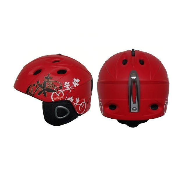фото Шлем сноубордический VCAN VS618 RED LBQ. Размер: L (59-60)