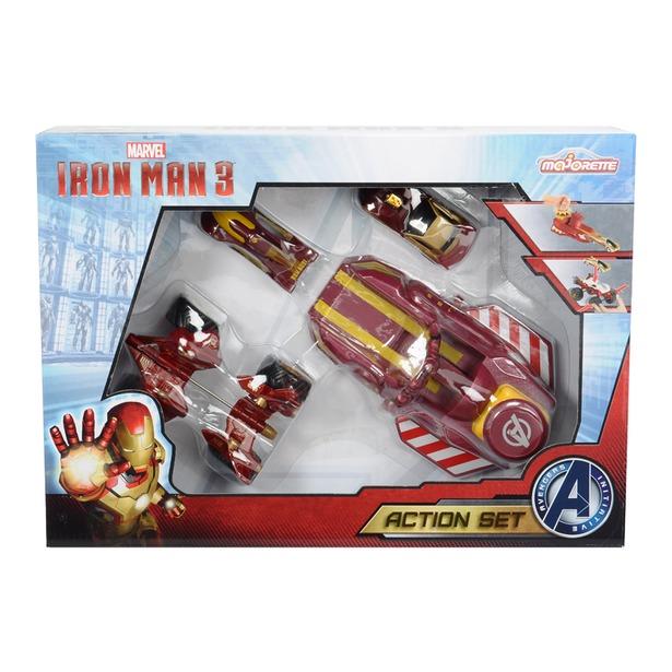 фото Набор машинок игрушечных Majorette «Железный человек»
