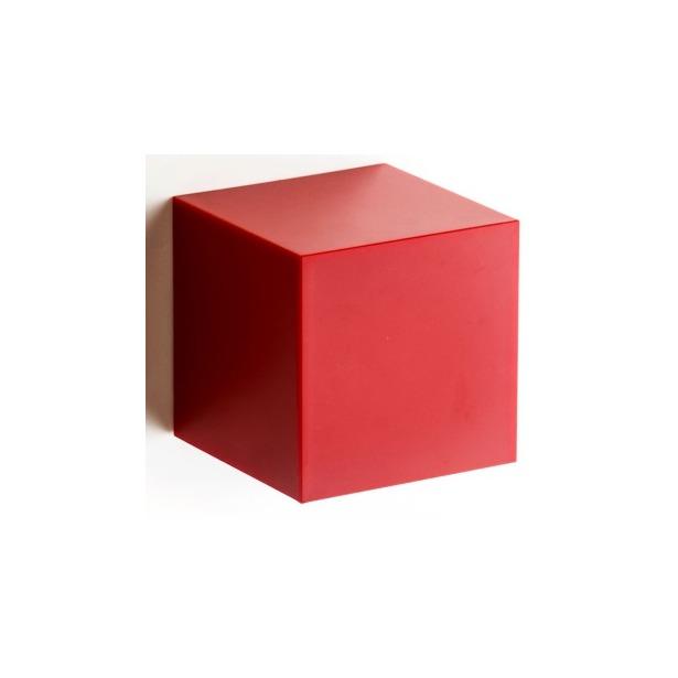 фото Полка-вешалка Qualy Pixel. Цвет: красный