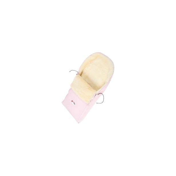 фото Конверт в коляску на меху Кроха Double. Цвет: розовый