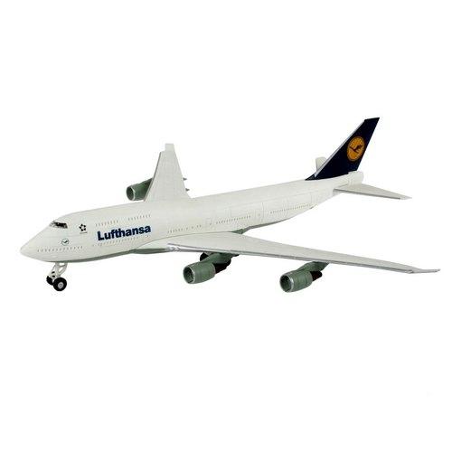 фото Сборная модель пассажирского самолета Revell Boeing 747 Lufthansa