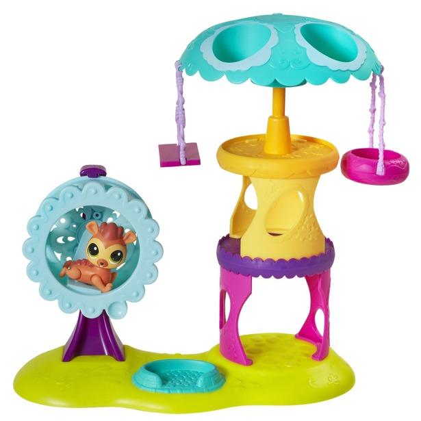 фото Набор игровой для девочек Hasbro «Зверюшки с волшебным механизмом»