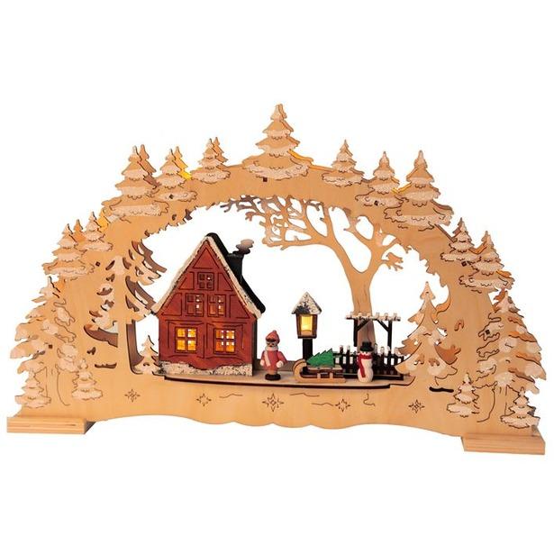 фото Декорация рождественская Star Trading Деревня