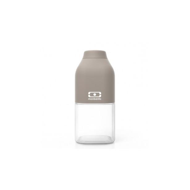фото Бутылка Monbento MB Positive. Цвет: белый, серый. Габариты: 190x60x60. Объем: 0,5 л