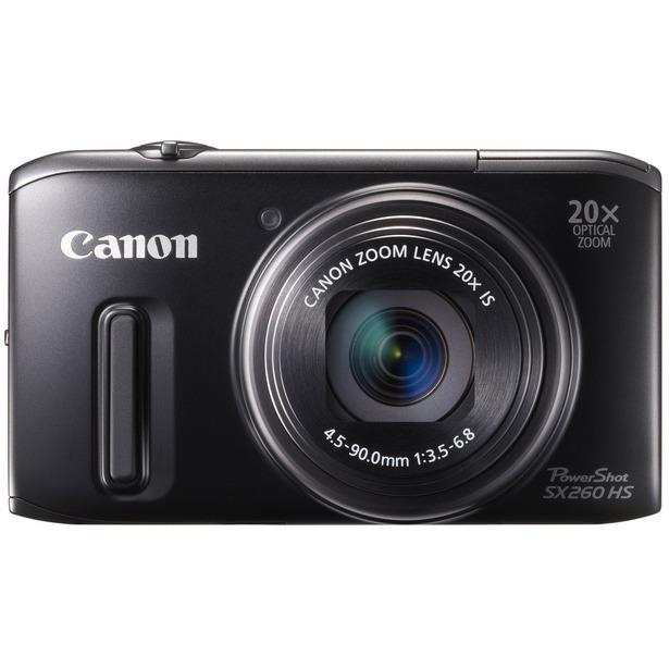 фото Фотокамера цифровая Canon PowerShot SX260 HS