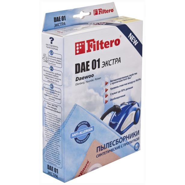 фото Мешки для пыли Filtero DAE 01