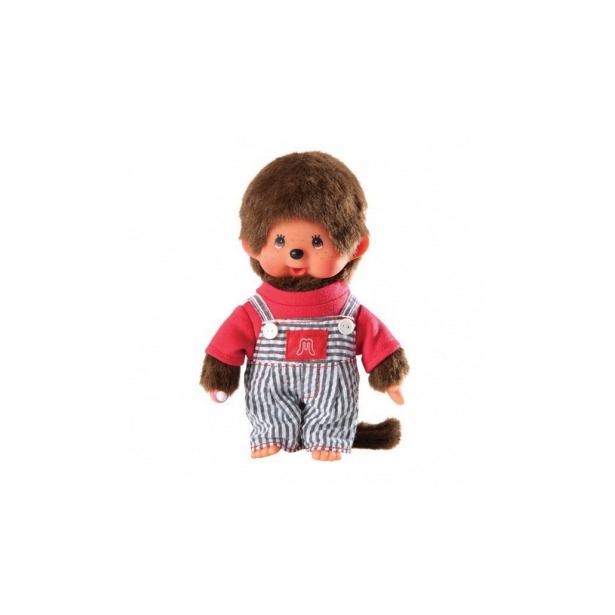 фото Мягкая игрушка Sekiguchi Мальчик в полосатом комбинезончике