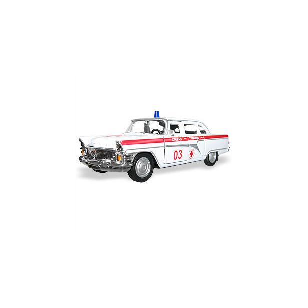 фото Модель автомобиля AUTOTIME ГАЗ-13 Чайка «Двухцветная». В ассортименте