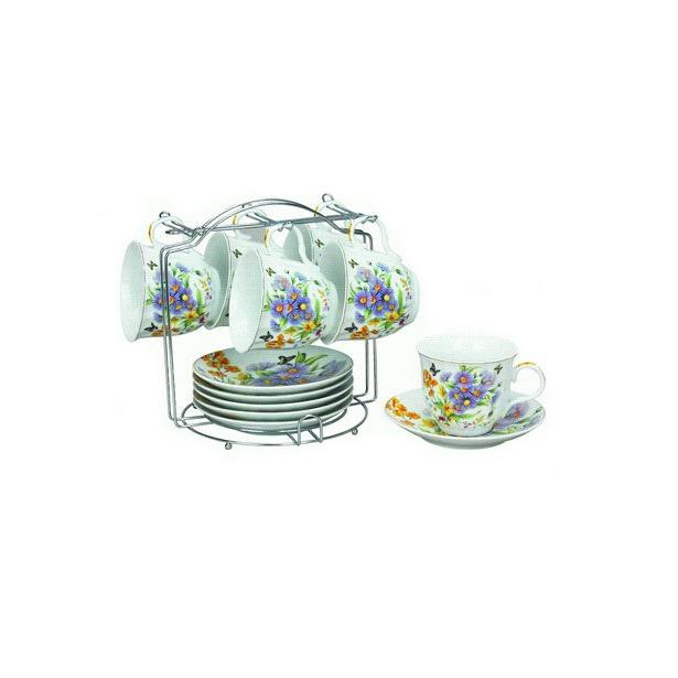 фото Чайный набор на подставке Grazie «Летнее Утро»