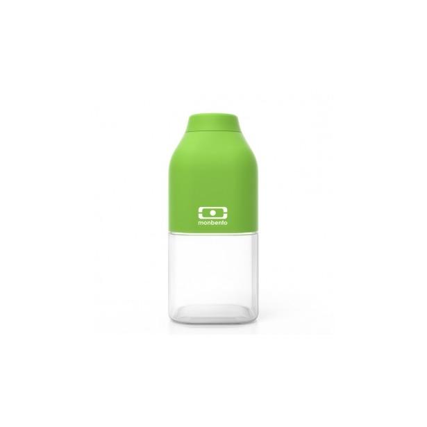 фото Бутылка Monbento MB Positive. Цвет: белый, зеленый. Габариты: 190x60x60. Объем: 0,5 л